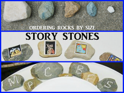 Playing to Learn with Rocks in Preschool