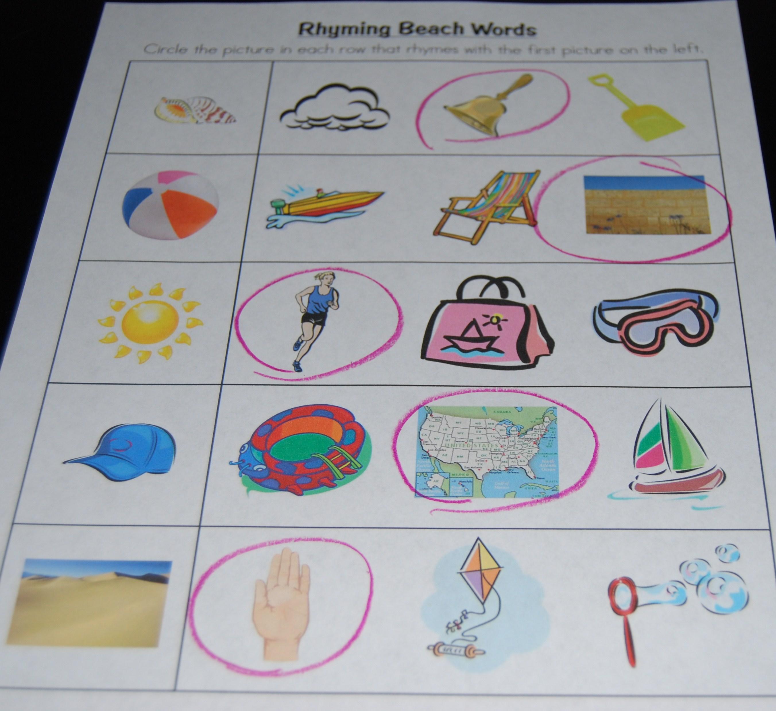 Ocean Beach Crafts For Preschoolers
