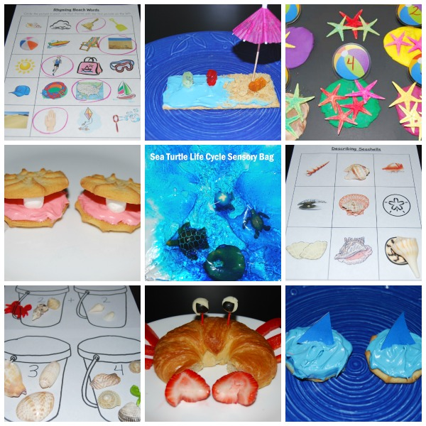 Beach and Ocean Themed Activities for Preschool