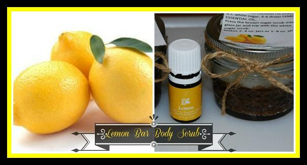 Lemon Bar Body and Hand Scrub Collage