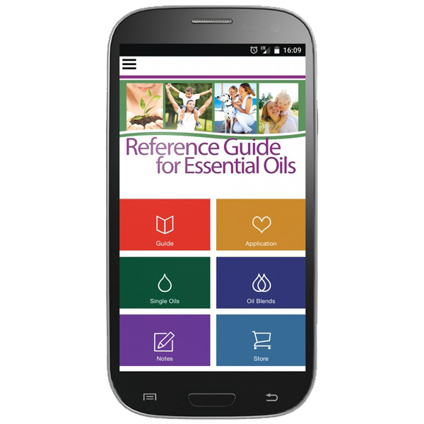 Reference Guide App for Young Living Oils