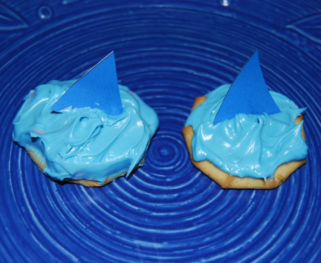 Shark Cookie Snack