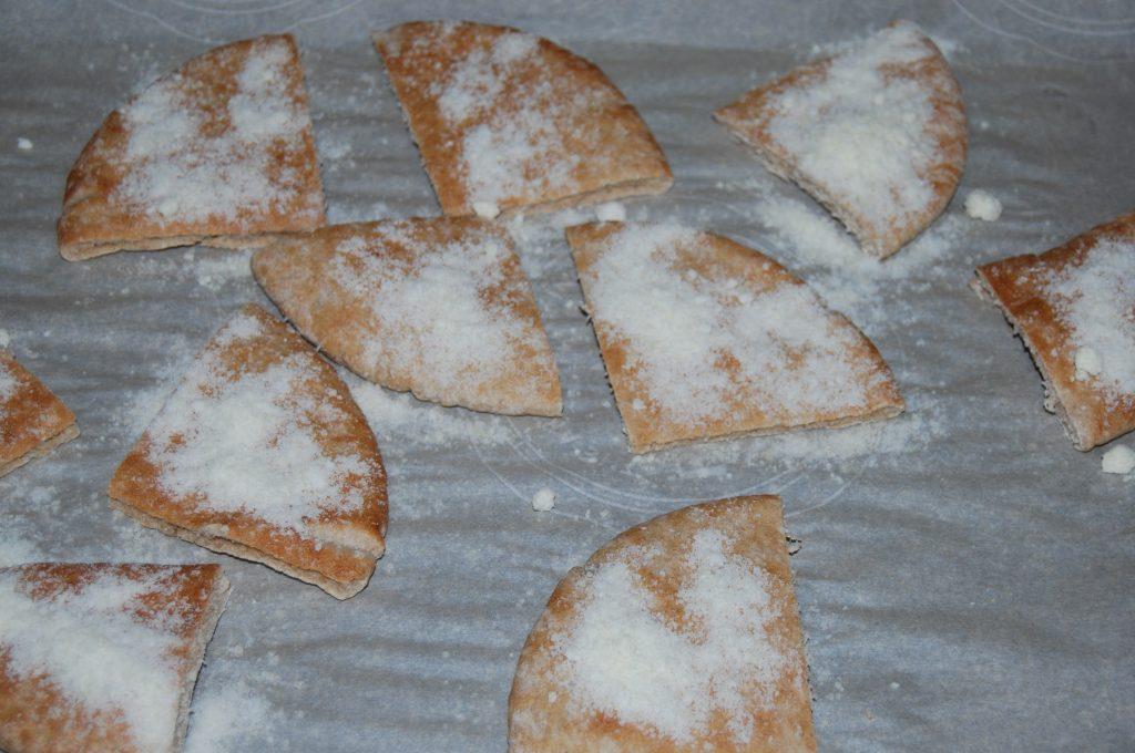Lemon Parmesan Pita Crisps (2)