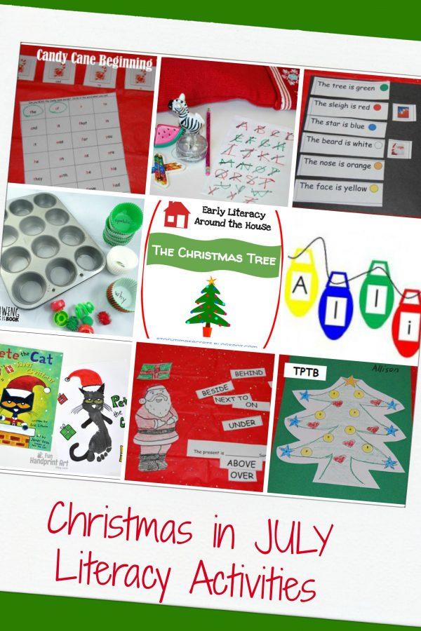 MEGA Christmas in JULY Thematic Activities for Preschool!