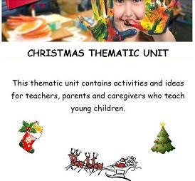 Christmas Thematic Unit for Preschool