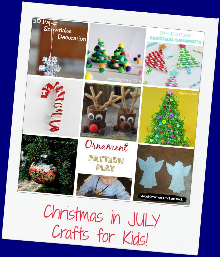 Christmas in July Crafts