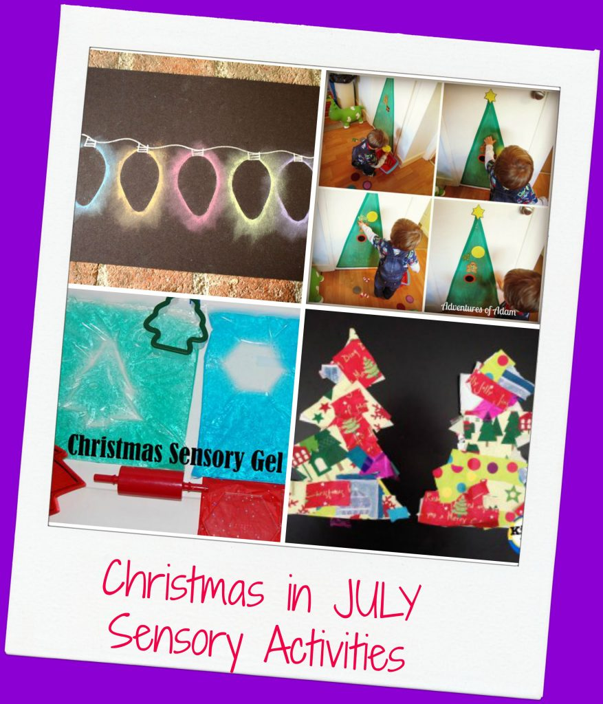 Christmas in July Sensory