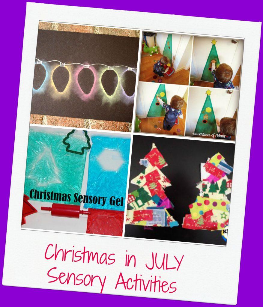 Christmas in July Sensory