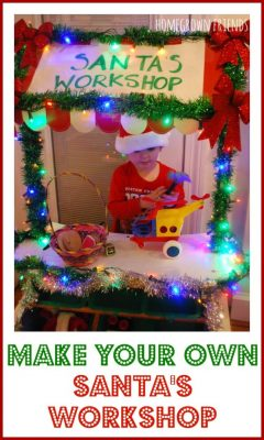 Christmas in July Pretend Play