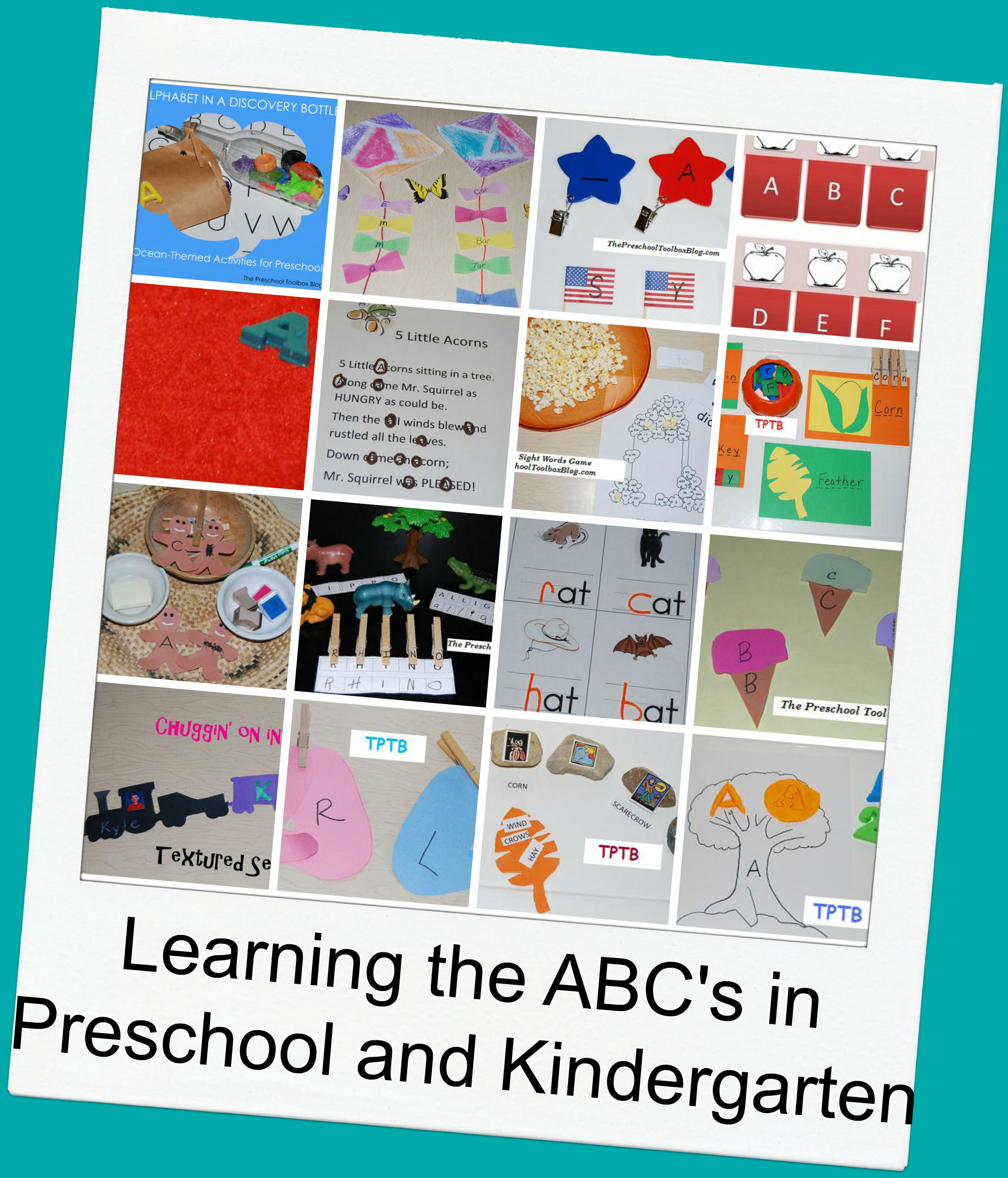Playful Learning for Teaching the ABC's in Preschool and Kindergarten