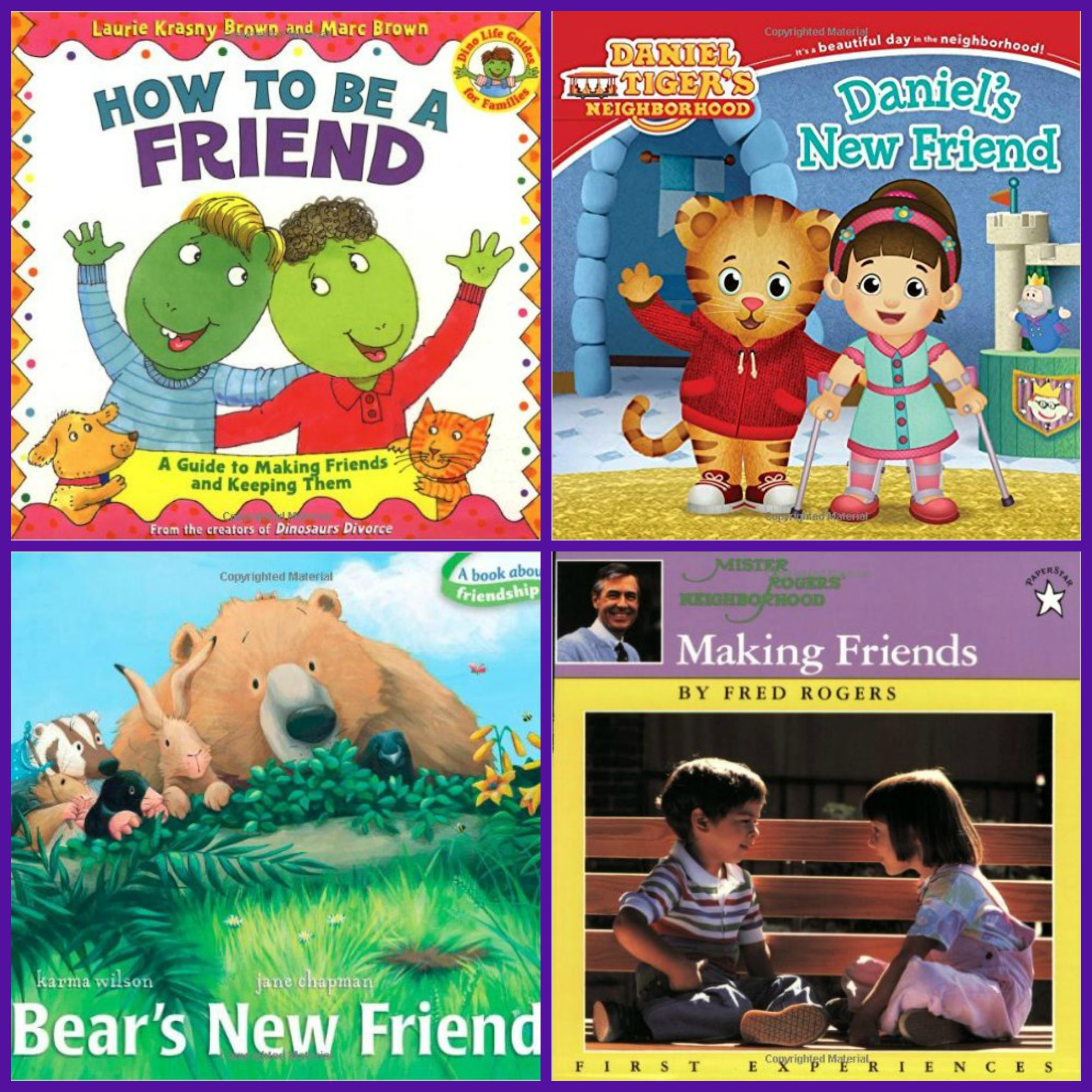 Books for Preschoolers about Making (and KEEPING) Friends!