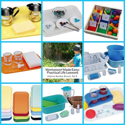 Preschool Practical Life Skills Resources for Home or Classroom