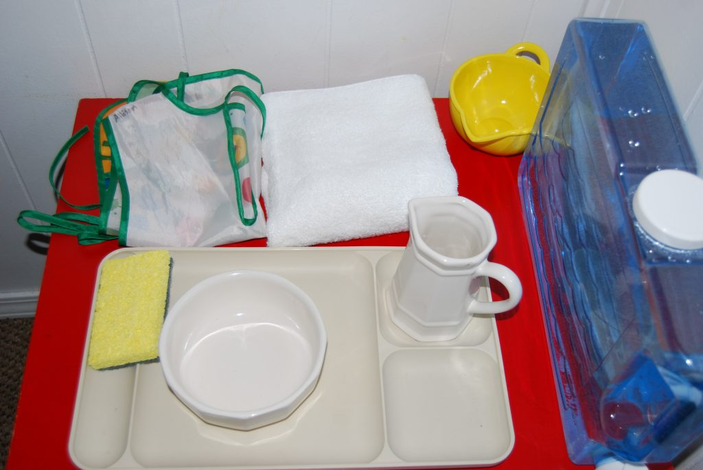 Pouring Activity for Practical Life Skills in Preschool