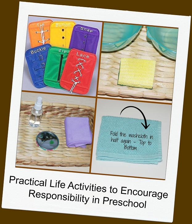 Practical Life Activities to Encourage Responsibility in Preschool