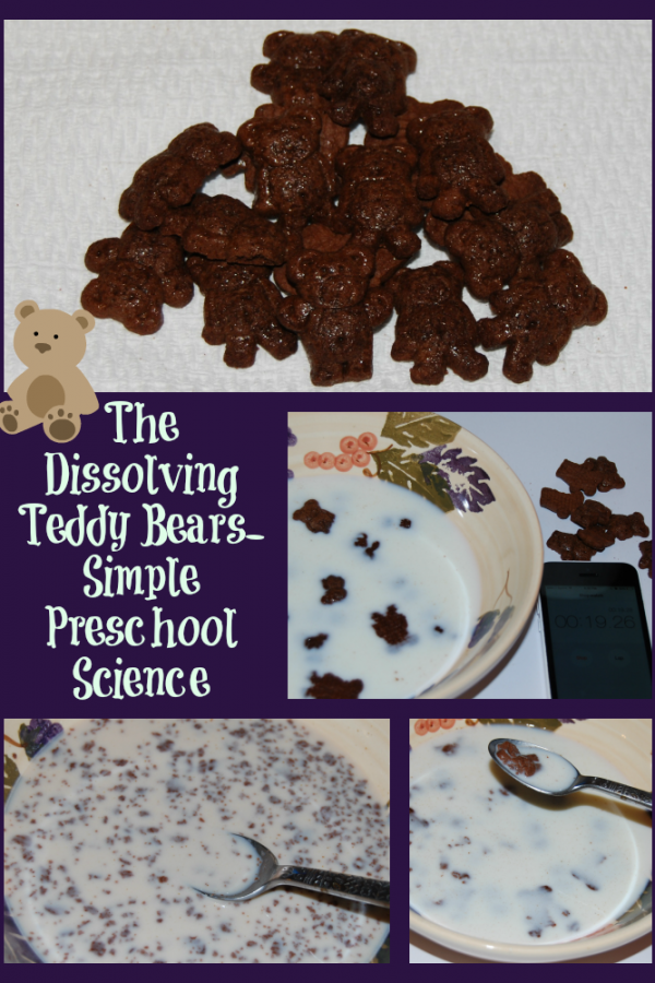 The Dissolving Teddy Bears – Simple Preschool Science!