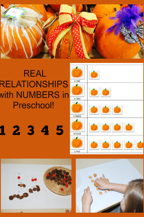 Establishing REAL RELATIONSHIPS with NUMBERS in Preschool! #TeachECE