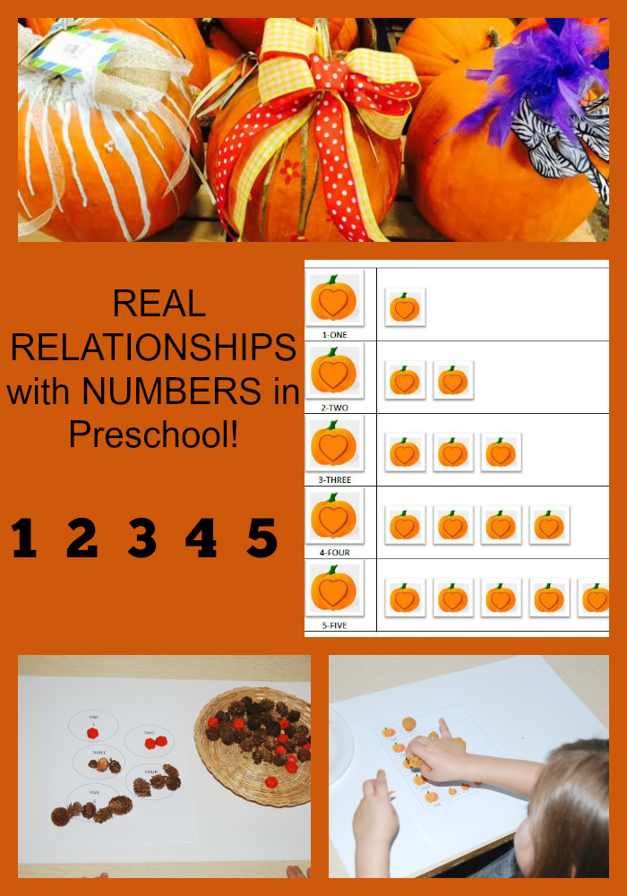 Establishing Real Relationships with Numbers in Preschool