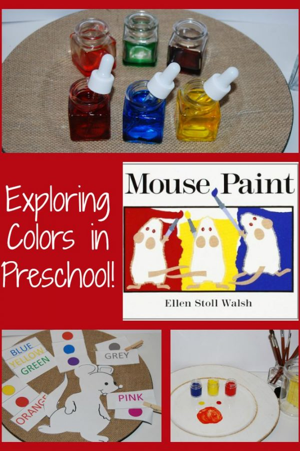 Mouse Paint:  Learning About Colors in Preschool! #TeachECE