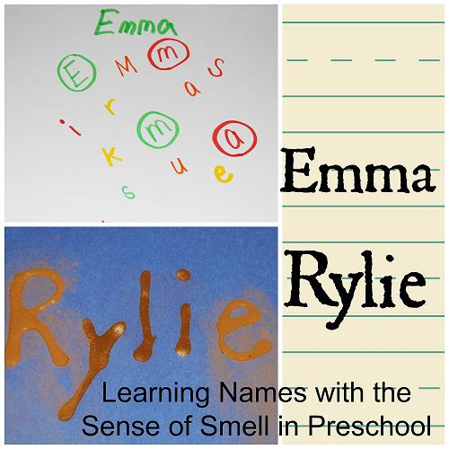 Learning Names with the Sense of Smell in Preschool