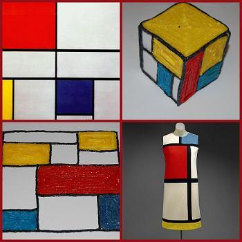 Mondrian STEAM Lesson Plan for Kids