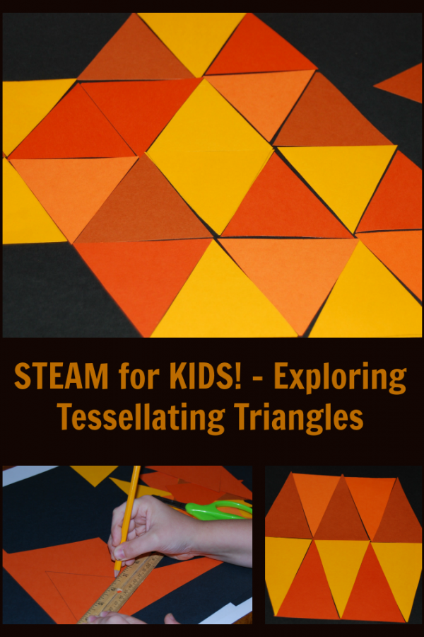 STEAM Explorations in Early Childhood: Tessellating Shapes!