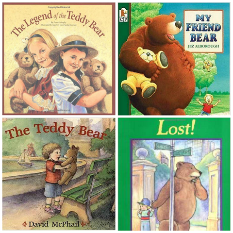Teddy Bear Books for Preschool