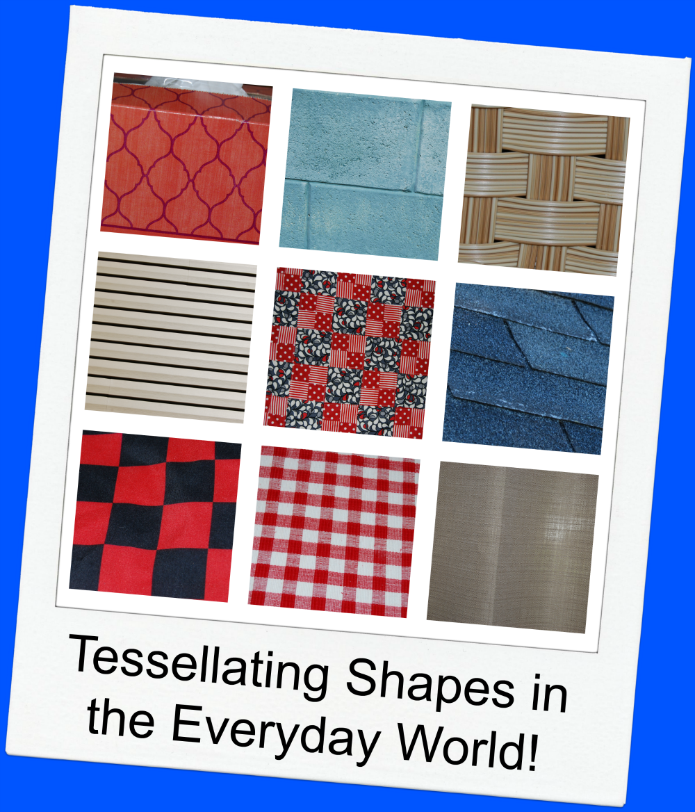 tessellating patterns found in the everyday world