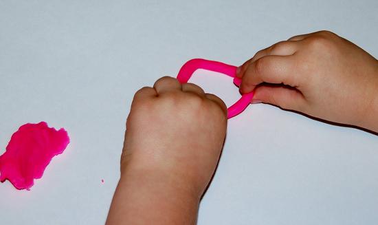 Playdough Shape Building Challenge for Preschoolers