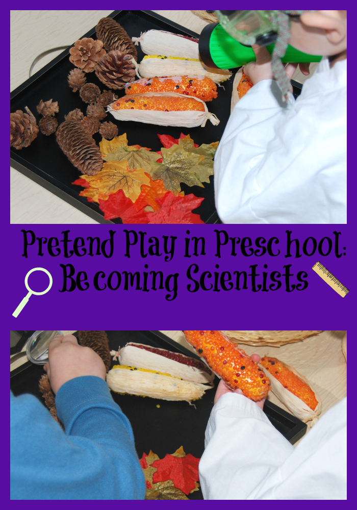 Pretend Play in Preschool How to be a Scientist