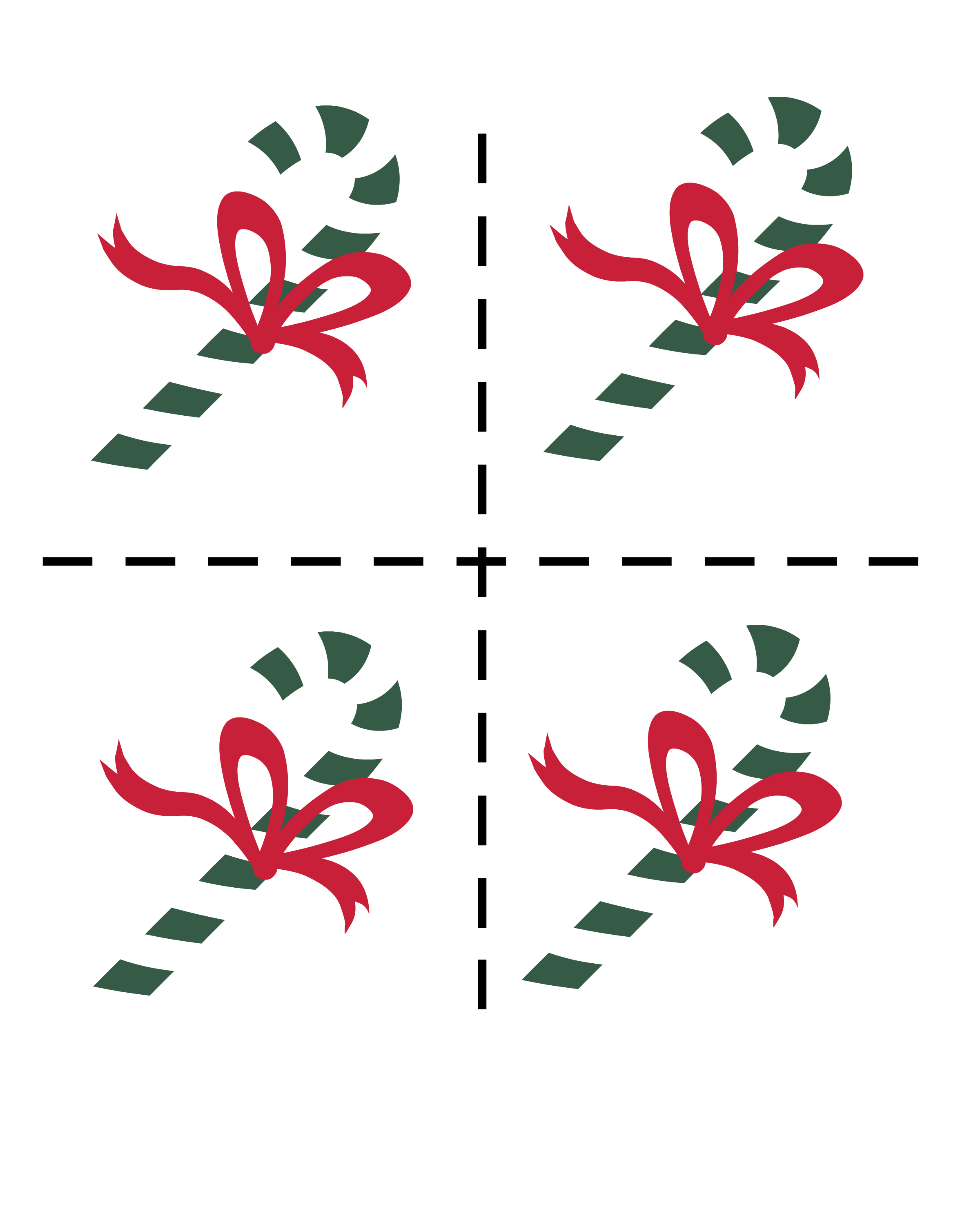 Candy Cane Cut Out Sugar Cookies: Candy Cane Counting Sticks In Preschool!