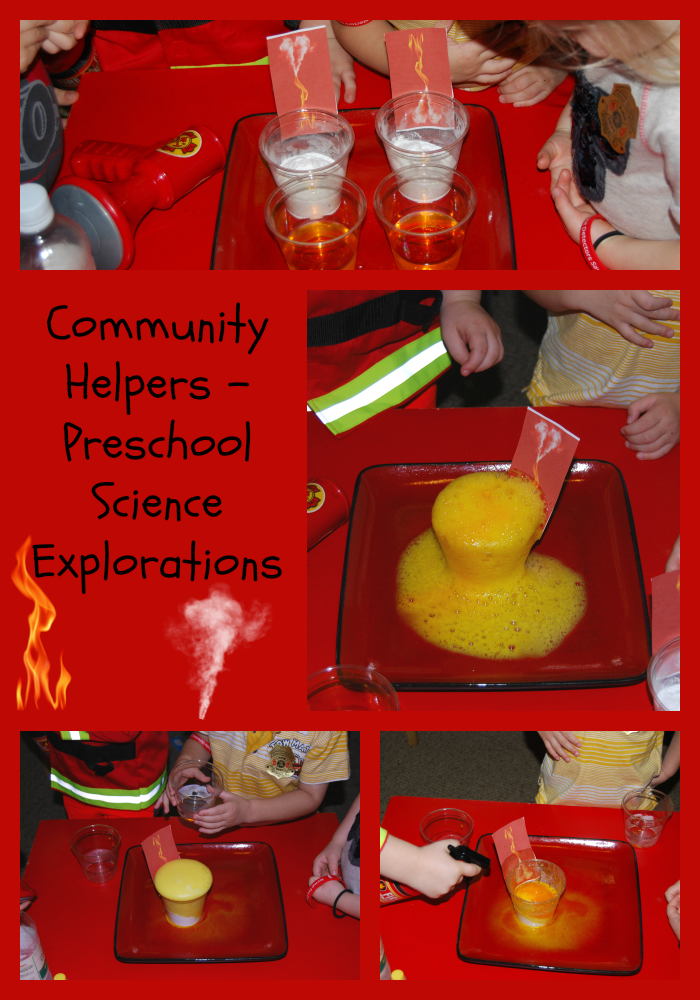 Community Helpers Theme Preschool Science Exploration