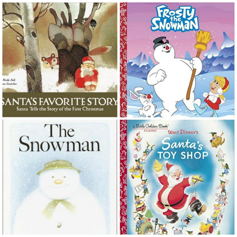 Santa and Snowman Books