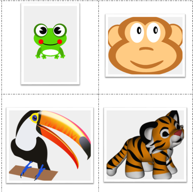 Sequencing Cards to Accompany Walkin' In the Jungle by Super Simple Songs