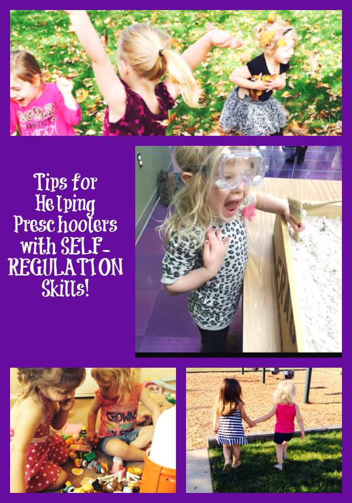 Tips for Helping Preschoolers with Self Regulations Skills