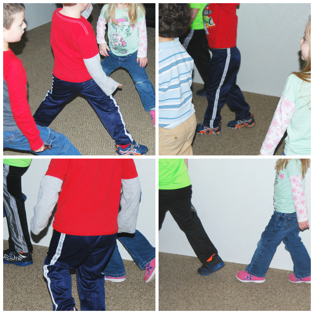 Walkin' In The Jungle Gross Motor And Sequencing For