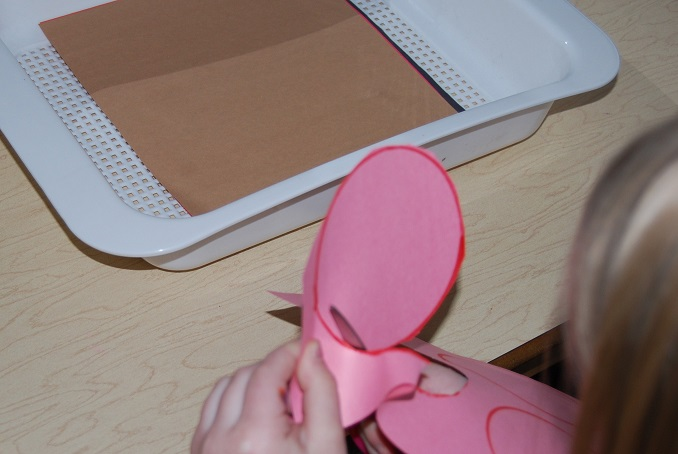 Cutting Circles in Preschool