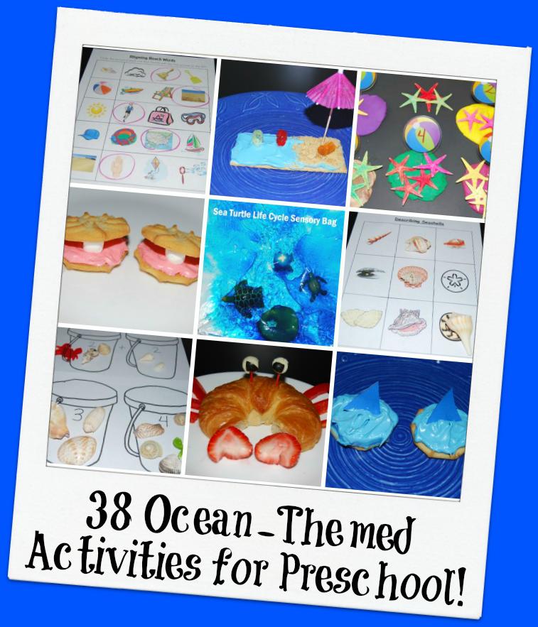 ocean themed lesson plans for preschoolers 38 themed activities for preschool the preschool 138