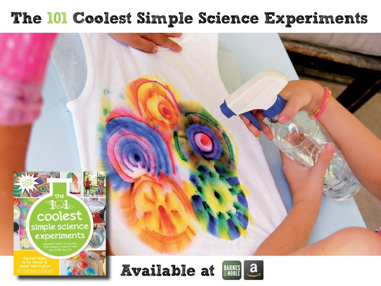 the 101 coolest simple science experiments_Dissolving Ink Exploration