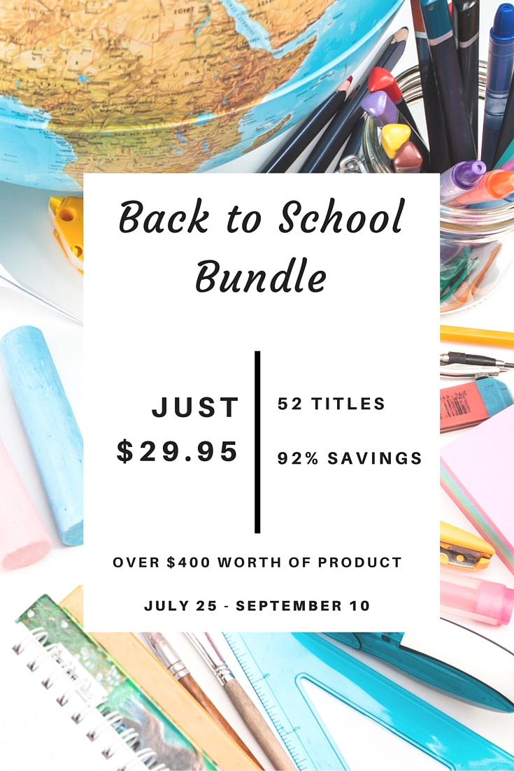 Back to School Resource Bundle Sale