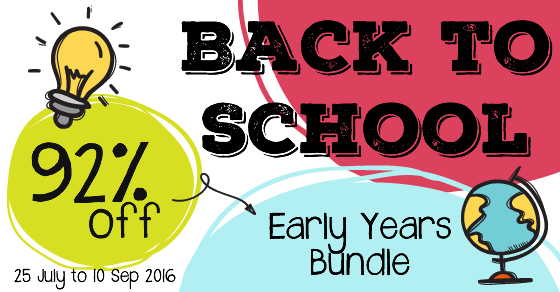 Back to School Resource BUNDLE for Preschool