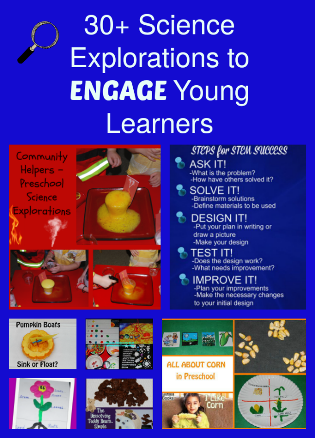 30 Science Explorations to ENGAGE Young Learners