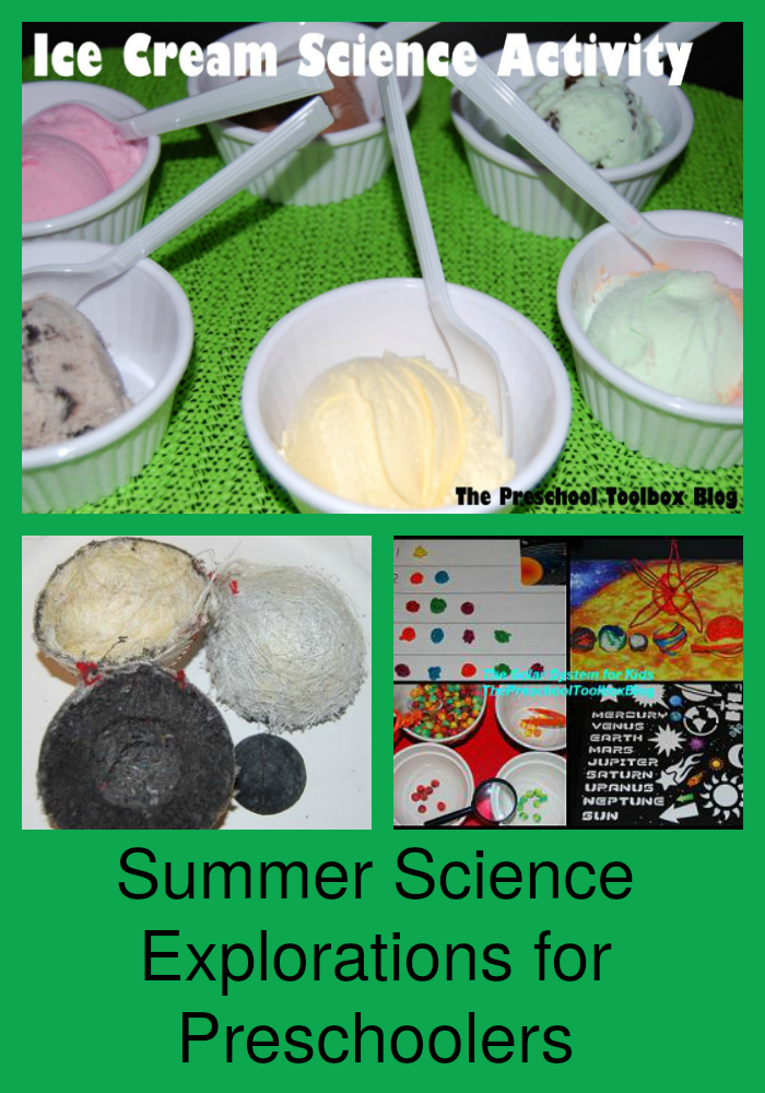 Summer Science Explorations for Preschoolers