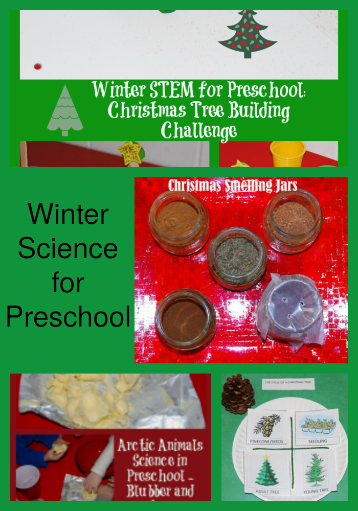 Winter Science Activities for Preschool