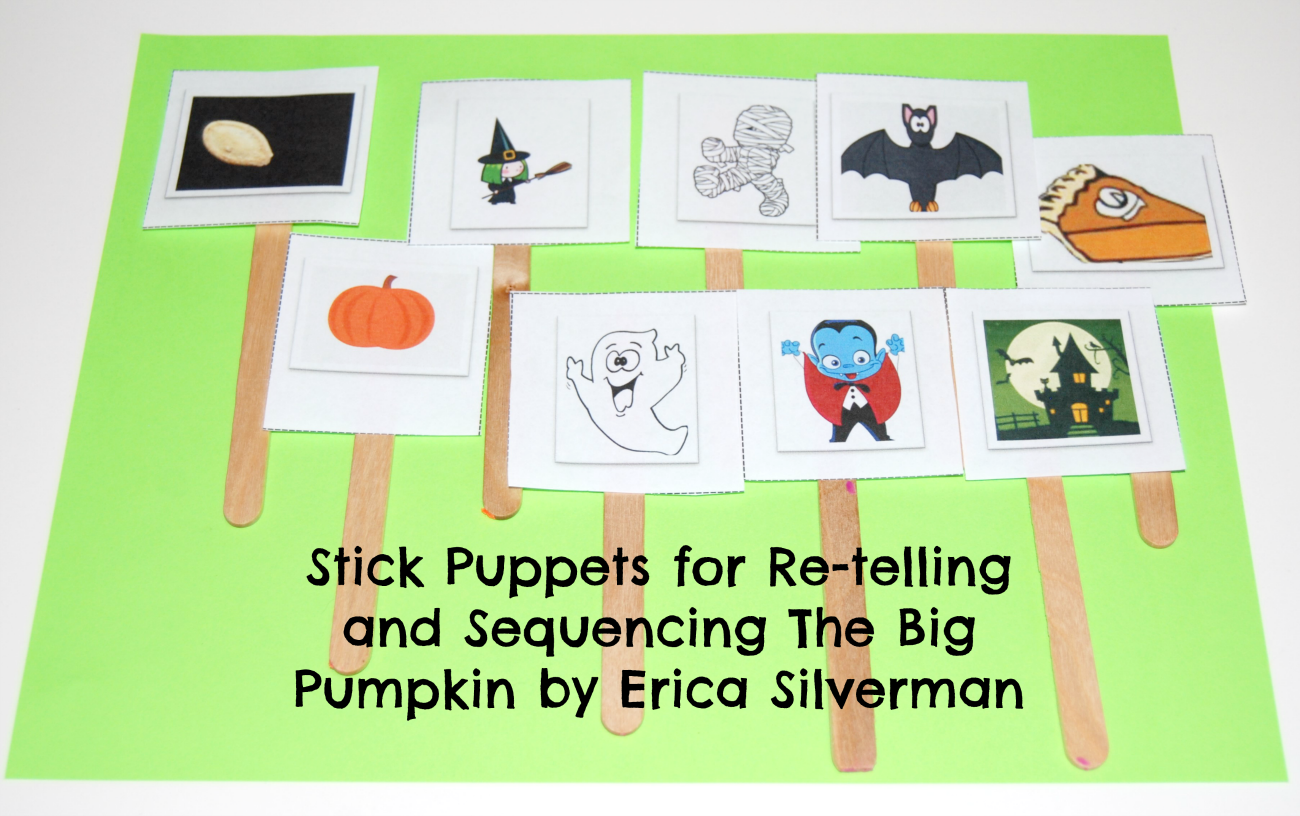 retelling-the-big-pumpkin-with-created-stick-puppets