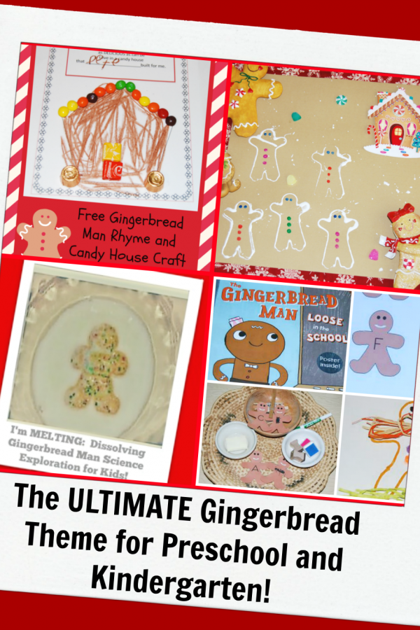 The ULTIMATE Gingerbread Theme for Preschool and Kindergarten!