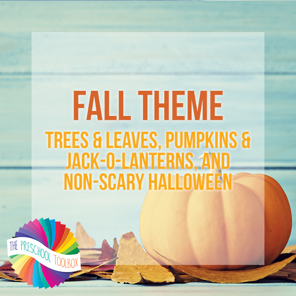 Fall Theme for Playful Learning in Preschool and Kindergarten