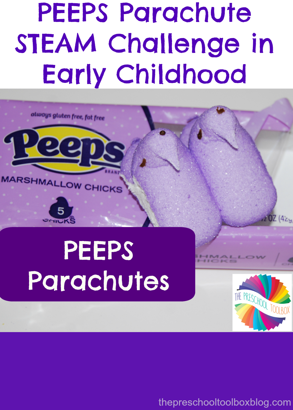 peeps parachute stem challenge in early childhood   u2022 the
