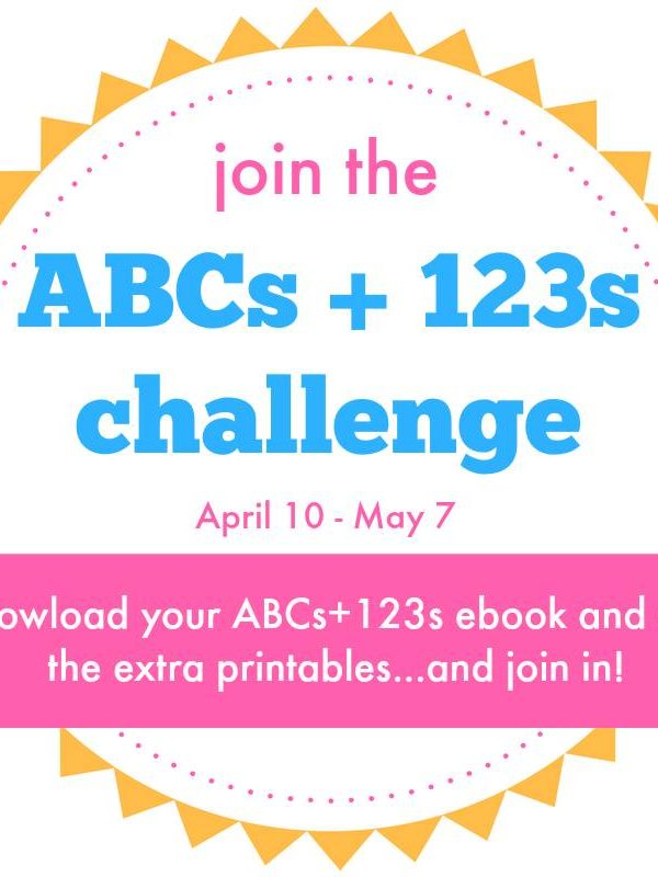 ABC's and 123's eBook Challenge: Free Bonus Pack and MORE!