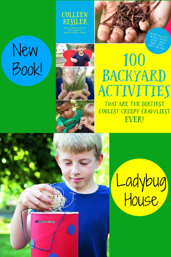 100 Backyard Activities Book by Colleen Kessler: Ladybug House Science