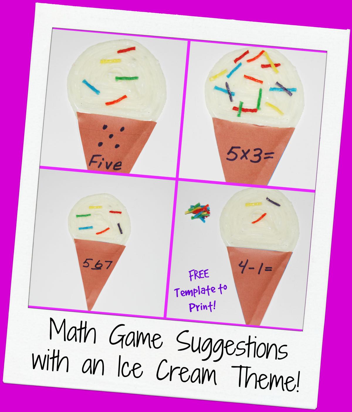 ice cream cone template pdf